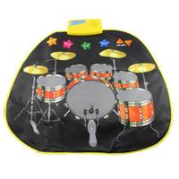 baby drum sets - Stylish Drum Set Musical Music Singing Carpet Mat Kids Baby Toy Gift