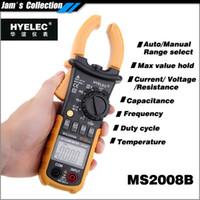 Cheap Wholesale-Free shipping professional old mastech new HYELEC MS2008B Autorange digital dc ampere meter clamp metro equal to FLUKE F322