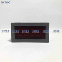 amp cans - High precision DC amp meter ammeter DC A red led current meter can test positive and negative current meter