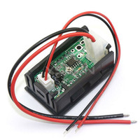 amp electric car - quot Green LED Digital A Car DC Current Testing Electric Ammeter Amp Meter Shunt Two Wires
