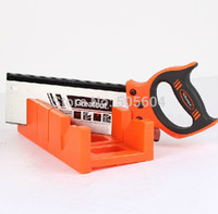 Wholesale Hand Manual Saw amp Plastic Miter Mitre BoxRectangular miter saw box quot of woodworking saws box Angle saws