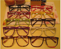 big nerd glasses - Large Clear Lens Glasses Square Party Fancy Dress Big Nerd Unisex Men Women Gift
