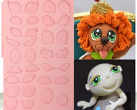 assorted soaps - Assorted Cartoon Eyes D Silicone Mould Tal Tsafrir Cakes Cookware Dining Bar Non Stick Cake Decorating fondant soap mold