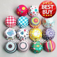 Wholesale promotion mixed mini size paper cupcake liner muffin case cake case cake tool party decoration tool base mm