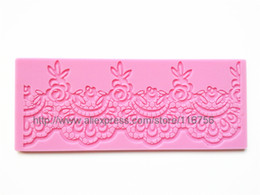Wholesale Best Seller Fondant Cake Instant Lace Silicone Mold Sugar Paste Sugar Art Tools Cake Decoration LM