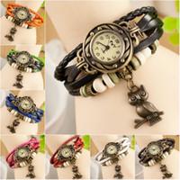 ancient roman bracelet - hot bangle bracelet lady s Roman style restoring ancient ways the owl of punk han edition quartz watch