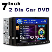 Wholesale universal two Din quot Car DVD player GPS optional audio Radio stereo FM USB SD SWC digital touch screen IN Dash head Deck