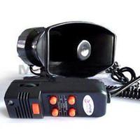 pa speaker - AUTO WARNING ALARM SIREN HORN V SOUND PA SPEAKER SYSTEM AMPLIFIER MIC water speaker boombox