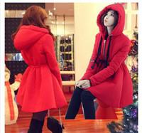 Wholesale Winter jacket women Long winter coat thick padded cotton jacket women s feather down jacket A1268