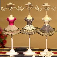jewelry doll stand - Mannequin Display Dress Doll Rack Necklace Earring Ring holder Fashion Model Jewelry Stand
