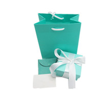 custom design jewelry - High Quality Jewelry Blue Gift Boxes Pouches Bags Set Jewellery Packaging Custom Logo Design