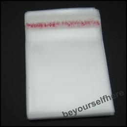 Pequeñas bolsas de plástico adhesivo transparente en Línea-Wholesale-2000pcs lote B13 claro al por mayor de plástico sello auto-adhesivo pequeñas perlas / joyería Bolsas 40x60mm un envase expositor