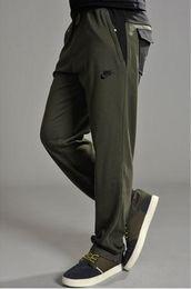 Wholesale NEW brand outdoor summer thin gym sport pants men s sweatpants fertilizer plus size L XL breathable loose joggers