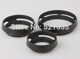 Wholesale Metal Lens Hood mm mm mm mm mm mm mm mm mm Dimensions Optional for M42 M43 Lei ca camera accessories