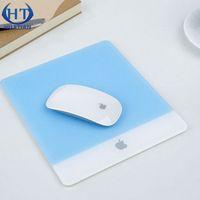 acrylic mat - High quality Acrylic Plexiglass Matte Surface Glass Mouse Pad Mat Design For Apple MackBook