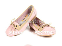 wd-40 - New Arrival Ballet Flats Women Genuine Leather Shoes Flat Shoes Summer Shoes Size WD