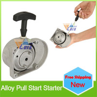 49cc scooter - New cc cc cc cc cc motorized Bicycle scooter alloy pull start starter stroke engine pull starter grey