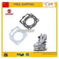 head gasket - LONCIN engine head gasket cc dirt bike ATV QUAD cylinder head gakset CB250 loncin water cooled