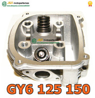 air intake gasket - CYLINDER SCOOTER GY6 GY6 CYLINDER Head With Head Gasket amp Intake amp Exhaust Studs ATV QMJ CY