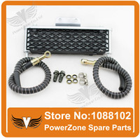 Wholesale High Performance Motorcycle Oil Cooler Radiator Cooling Parts Fit To ATV Dirt Pit Monkey Bike cc cc cc