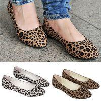 ballerina prints - Kllmin Womens Leopard Print Ballet Ballerina Flat Ballet Shoes colors
