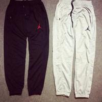 authentic jordans - M XXL black grey designer jogger authentic jordans sweatpants slim fit basketball sport pants casual fashion jordan joggers