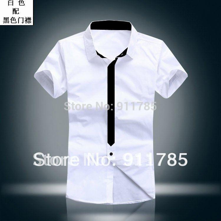 2017 Wholesale 2015 New Hot Sale Korean Style Mens Short Sleeved ...