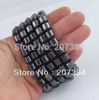 wholesale magnetic hematite beads - TRIPLE POWER cm beads bangles Magnetic Hematite men Bracelet Anklet women Healthful Magnetic charm bracelet
