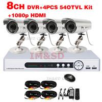 video surveillance - Ultra Low Price TVL Waterproof Camera CH p HDMI DVR TVL Outdoor Day Night IR Camera Color Video Surveillance System