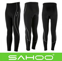 Wholesale Sale SAHOO Outdoor Women Men Cycling Running Long Shorts Cycling Pants Pant Stretch Tight Pants Compression Tights Size S XL