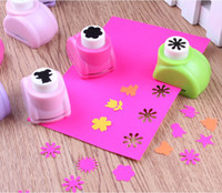 Wholesale 10 Kid Child Mini Printing Paper Hand Shaper Scrapbook Tags Cards Craft DIY Punch Cutter Tool