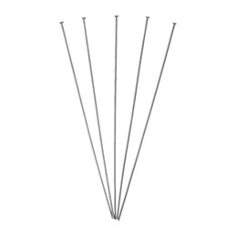 Wholesale Stainless Steel Head Pins Silver Tone cm long mm gauge new