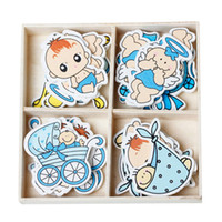 Wholesale Wood Embellishments Findings Baby Mixed Baby Shower Decoration cm x cm Boxes new