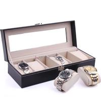 beautiful storage boxes - Quality leather watch box luxury skylight beautiful watches male gift storage box