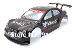 Wholesale-1 10 RC car parts 1:10 R C car body shell 200mm black No 014BK free shipping
