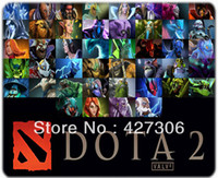 ads games - mm mm mm DOTA hero game ad couples mouse pad MP0206