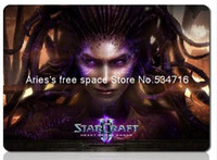 Cheap Wholesale-StarCraft mouse pad razer mousepads best gaming mouse pad gamer Heart group of insect large personalized mouse pads keyboard pad