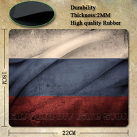 Cheap Wholesale-Best Seller Nice Russian Flag Silicon Anti-slip Mouse Mats for PC Computer Laptop Notbook Gaming Mouse Mat