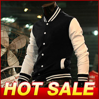 design new tracksuits - New Band Design Varsity Baseball Jackets For Men Clothing Coat Sportswear Tracksuit Outerwear Y064