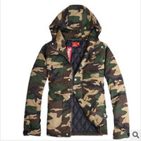 supreme clothing - Camouflage Hip Hop Fashion Brand Winter Thicken Coat Men Camouflage Clothing Cotton hoodies Military Jacket Jacket