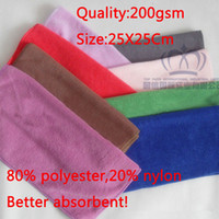 bamboo charcoal bulk - cm car wash towels Microfiber towel Bamboo charcoal towel Super Absorbent bulk pack gsm
