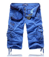 baggy cargo shorts - colors Men s camouflage cargo shorts Gym Jogging fashion baggy sweatpants summeer