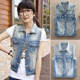 Wear Sleeveless Denim Jacket Online | Wear Sleeveless Denim Jacket ...