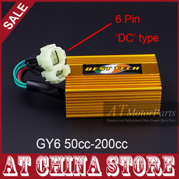 Wholesale DC Fired High Performance Alloy Racing CDI Box for GY6 cc cc QMB QMI QMJ Scooter Moped ATV Go Kart NO REV LIMIT