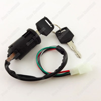 atv locks - Motorcycle Wire Key Ignition Lock Switch Male Plug For cc cc Off road ATV Quads wheeler Pit Dirt Baja Mini Bikes