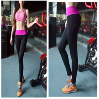 athletic clothes - Women Stretched Yoga Running Sport Pants Leggings Gym Athletic Outdoor Skinny Fitness Clothes Sportswear Trousers