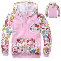 Cheap Wholesale-FREE SHIPPING NWE ARRVE 2015 children's sweatshirt infant minnie mouse autumn hoodie cartoon girls autumn dress RERAIL