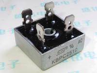Wholesale Sep kbpc2510 rectifier bridge side bridge rectifiers a v