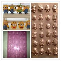 Wholesale Beedo minions diy cake decorating chocolate fondant molds PET QM144