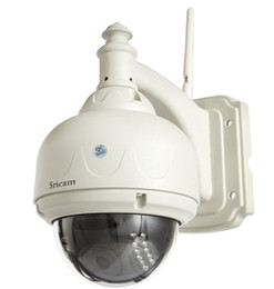 Wholesale-Sricam AP006 Cheap P2P Wireless Waterproof 4MM Lens IR CUT Pan Tilt Wifi IP Camera Outdoor